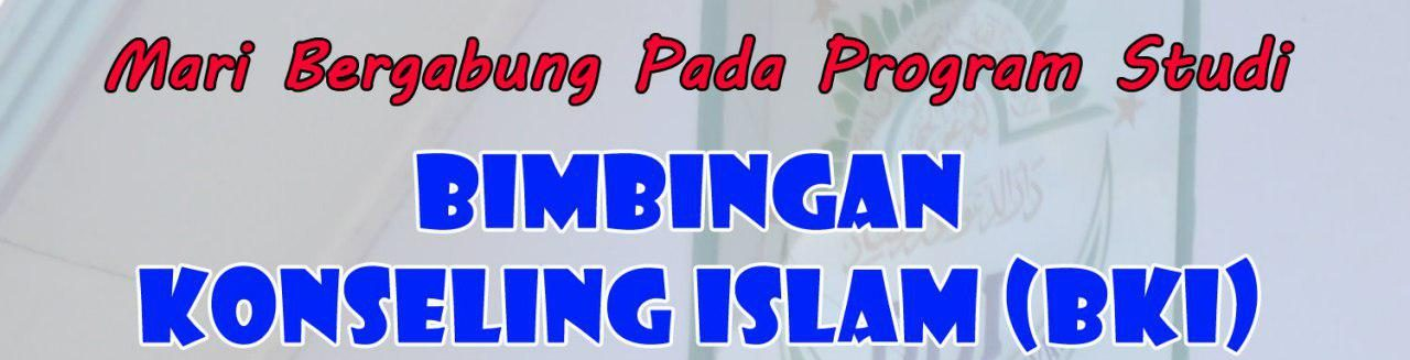 PRODI BIMBINGAN KONSELING ISLAM